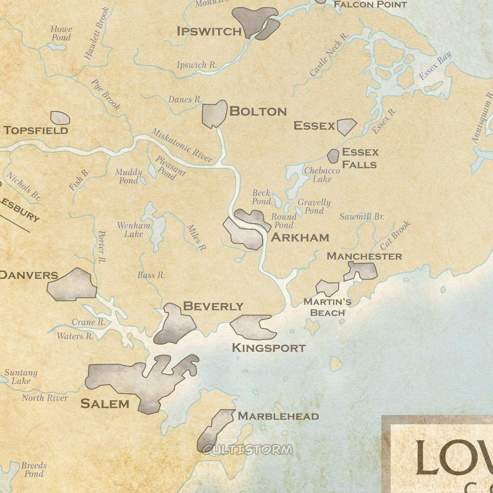 Cultistorm - térkép